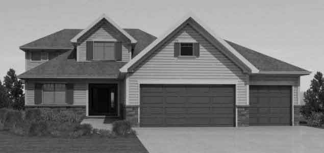 House Plan Vkd2500 12s. 2500 SQ. 1.5 Story Nice Look