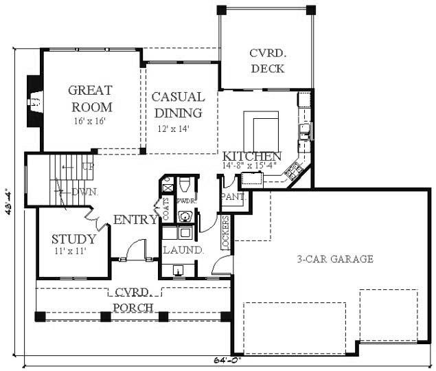 House Plan Vkd2555 2s