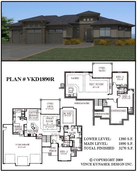 House plan vkd1890r for 1890 house plans